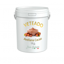 Veteado Bom Gelatti - Avellana al Cacao -  1 Kg