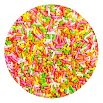 Fideos colores decoracion