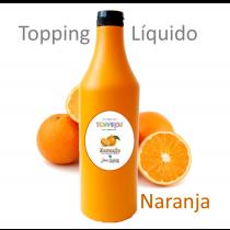 Topping Líquido -  Bom Gelatti - Naranja - 1,2 Kg