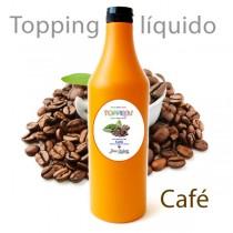 Topping líquido de café para helado