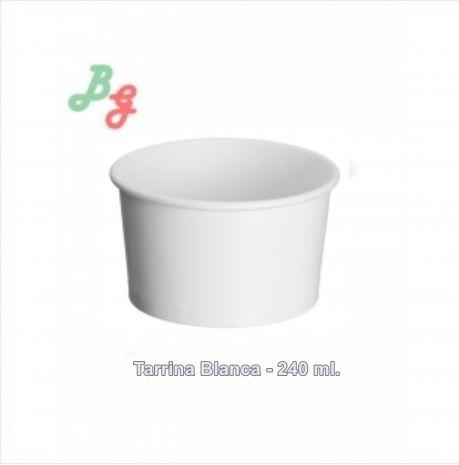 Tarrina Blanca 240